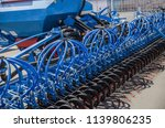 modern tractor for agriculture... | Shutterstock . vector #1139806235