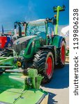 modern tractor for agriculture... | Shutterstock . vector #1139806238