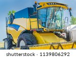 modern tractor for agriculture... | Shutterstock . vector #1139806292