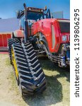 modern tractor for agriculture... | Shutterstock . vector #1139806295
