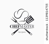 Chef Master Logo With Chef Hat...