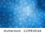 light blue vector texture with...   Shutterstock .eps vector #1139818166