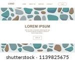 colorful pebbles  illustrative...