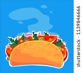 traditional mexican food....   Shutterstock .eps vector #1139846666