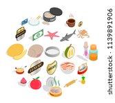 food preparation icons set....   Shutterstock .eps vector #1139891906