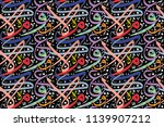 background arabic letters used... | Shutterstock .eps vector #1139907212