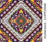 indian rug paisley ornament...   Shutterstock .eps vector #1139910068