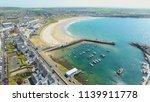 portrush town atlantic ocean... | Shutterstock . vector #1139911778