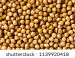 top view chickpea groats as a... | Shutterstock . vector #1139920418
