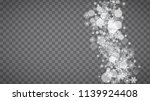 blizzard snowflakes on... | Shutterstock .eps vector #1139924408
