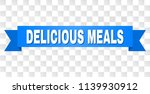 delicious meals text on a... | Shutterstock .eps vector #1139930912