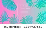 abstract holographic background ... | Shutterstock .eps vector #1139937662