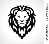 vector lion icon design on... | Shutterstock .eps vector #1139961518