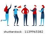 set of people. group team... | Shutterstock .eps vector #1139965382