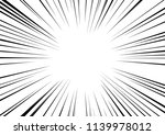 abstract radial zoom speed... | Shutterstock .eps vector #1139978012
