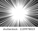 abstract radial zoom speed... | Shutterstock .eps vector #1139978015