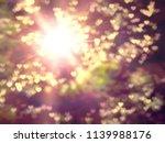 golden heaven splashing light... | Shutterstock . vector #1139988176