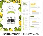 menu vector vertical...   Shutterstock .eps vector #1139999642