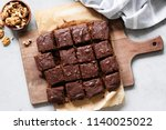 Chocolate Brownie Squares With...