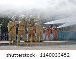 disaster training exercise... | Shutterstock . vector #1140033452