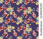 seamless decorative elegant... | Shutterstock .eps vector #1140035255