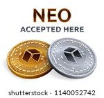 neo. accepted sign emblem....   Shutterstock .eps vector #1140052742