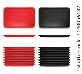 realistic detailed 3d plastic... | Shutterstock .eps vector #1140056132