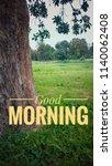 good morning image | Shutterstock . vector #1140062408