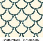 seamless scales made of rope ...   Shutterstock .eps vector #1140085382