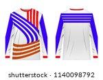 design for sublimation print.... | Shutterstock .eps vector #1140098792