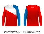 design for sublimation print.... | Shutterstock .eps vector #1140098795
