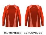 design for sublimation print.... | Shutterstock .eps vector #1140098798