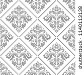 classic seamless vector pattern.... | Shutterstock .eps vector #1140113138