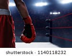 red boxing glove | Shutterstock . vector #1140118232