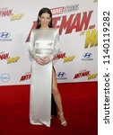 Evangeline Lilly At The Los...