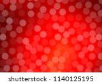 light red vector blurred shine... | Shutterstock .eps vector #1140125195