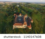 the beautiful medieval castle... | Shutterstock . vector #1140147608