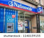 london  july  2018  nationwide... | Shutterstock . vector #1140159155