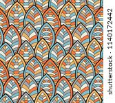 seamless abstract pattern.... | Shutterstock .eps vector #1140172442