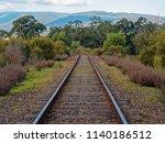 train tracks of the yarra... | Shutterstock . vector #1140186512