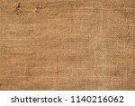 brown sackcloth texture. or...   Shutterstock . vector #1140216062