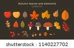 Autumn Leaves And Elements...