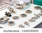 high precision hot forging... | Shutterstock . vector #1140230402