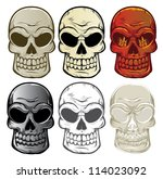 Vector Skull Collection