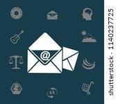 e mail vector icon | Shutterstock .eps vector #1140237725