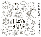 Set Of Lovely Doodle Icons....