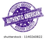 authentic american stamp seal... | Shutterstock .eps vector #1140260822