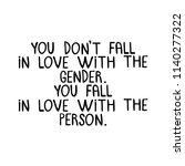 you don't fall in love with the ... | Shutterstock .eps vector #1140277322