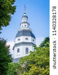 the maryland state house  in... | Shutterstock . vector #1140328178