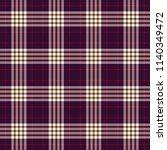 tartan traditional checkered... | Shutterstock .eps vector #1140349472